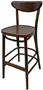 Moonback Bentwood Bar Stool