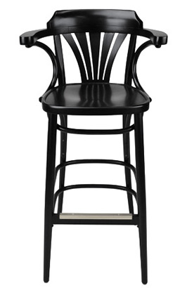 Enjoyable New York Cafe Bentwood Bar Stools Dailytribune Chair Design For Home Dailytribuneorg
