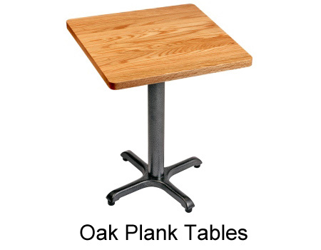 Incroyable Maple Plank Restaurant Tables Oak Plank Restaurant Tables