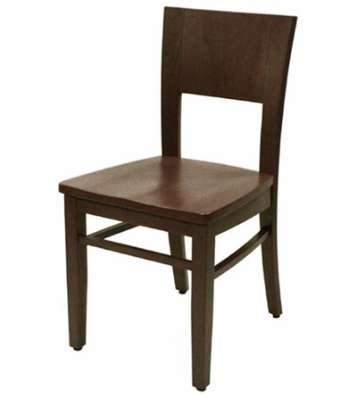american contemporary wood restaurant dining room chairs