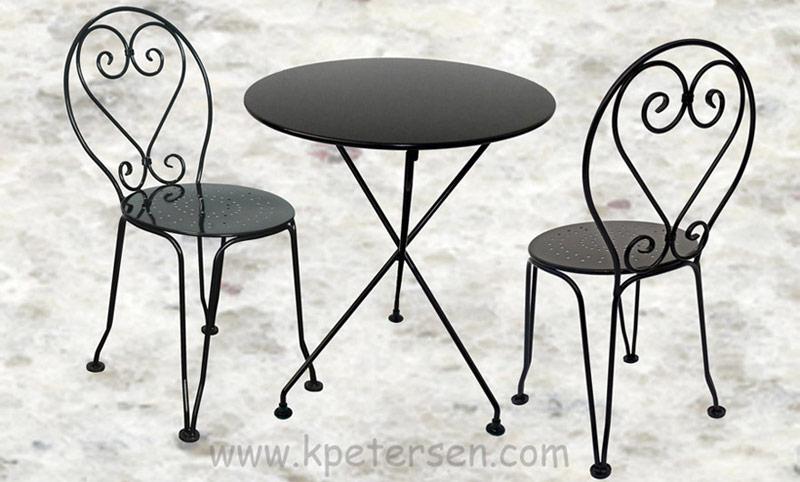 2bce9adb324ea French Style Wrought Iron Ice Cream Chair