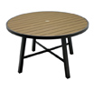 Outdoor Aluminum Table 36 Inch Round