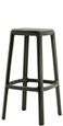 Outdoor Backless Stacking Bar Stool