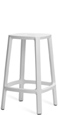 Outdoor Backless Stacking Counter Height Stool