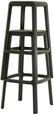 Outdoor Backless Stacking Bar Stool Stacked