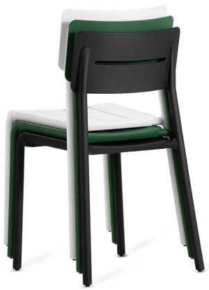 Outstanding Outdoor Polypropylene Stacking Restaurant Chairs Gmtry Best Dining Table And Chair Ideas Images Gmtryco