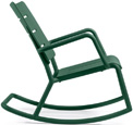 Outdoor Polypropylene Rocking Chair Green