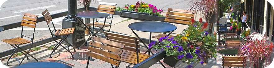 outdoor furniture 19th century reproduction french bistro cafe