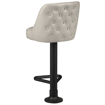 Pancake House Counter Stool - Button Tufted Back
