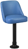 Budget Bolt Down Pancake House Bucket Stool