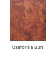 Powdercoated MDF Core Restaurant Table Top Color Option California Burl
