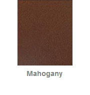 Powdercoated MDF Core Restaurant Table Top Color Option Mahogany