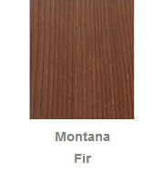 Powdercoated MDF Core Restaurant Table Top Color Option Montana Fir