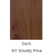 Powdercoated MDF Core Restaurant Table Top Color Option Dark New York Knotty Pine