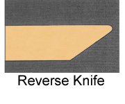Powdercoated MDF Core Restaurant Table Top Edge Profile Option Reverse Knife