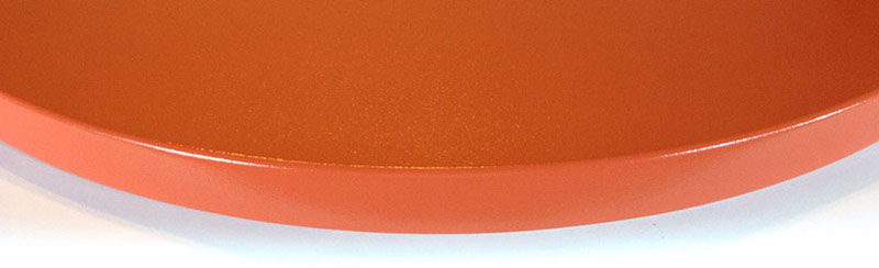 Powdercoated MDF Core Restaurant Round Table Top Edge Detail