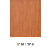 Powdercoated MDF Core Restaurant Table Top Color Option Thai Pine