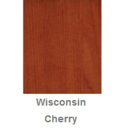 Powdercoated MDF Core Restaurant Table Top Color Option Wisconsin Cherry