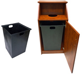 Top Drop Restaurant Waste Receptacles In Stock