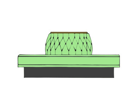 Upholstered Booth Layouts Typical Booth Dimensions