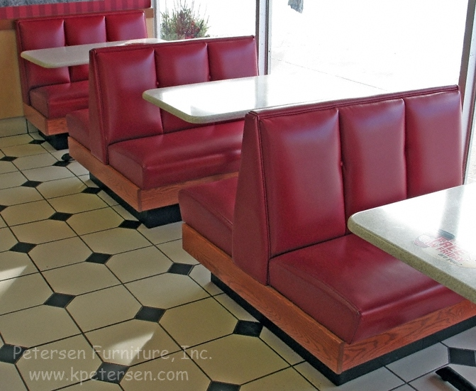Restaurant furniture booths - Wide Channel Back Booths And Restaurant Booth Banquettes