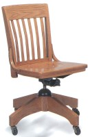 School House Swivel Chair