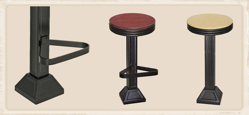 Pleasing Oak Seat Western Drug Store Soda Fountain Counter Stool Alphanode Cool Chair Designs And Ideas Alphanodeonline