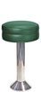 Deluxe Upholstered Seat Bolt Down Counter Stool