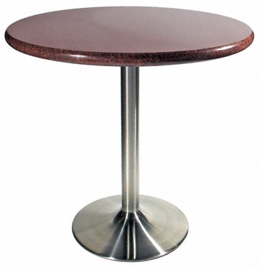 Stainless Steel Table Base With Granite Table Top