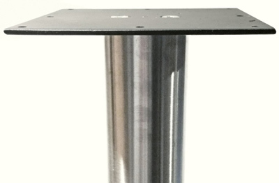 ... Stainless Steel Table Legs 3 Inch Diameter