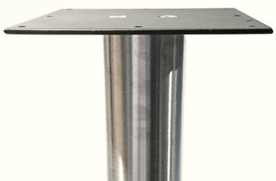 Stainless Steel Table Legs 3 Inch Diameter