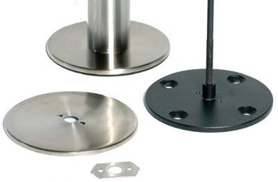 Stainless Steel Bolt Down Base Component Parts
