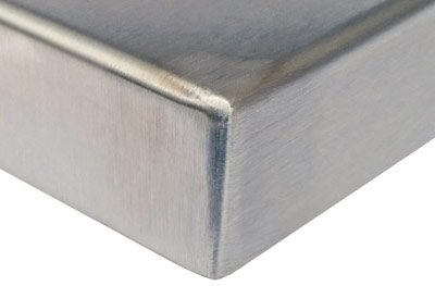 Exceptional Stainless Steel Table Top Corner Detail ...