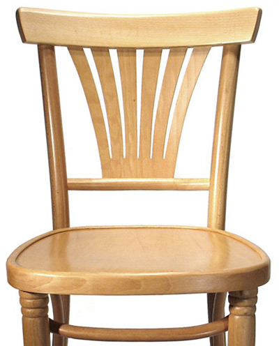 Well-known Fanback Bistro Bentwood Cafe Side Chair TF87