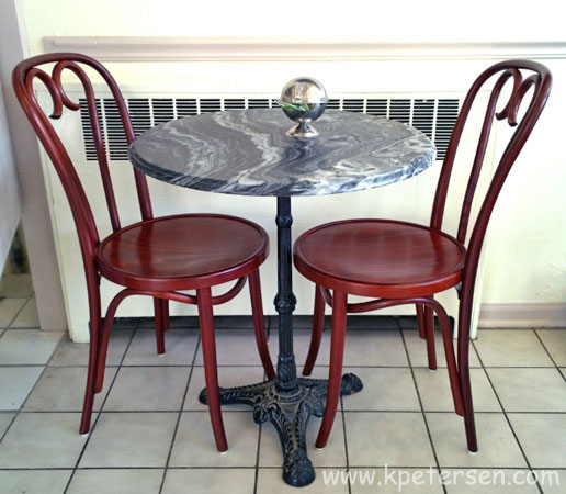 Victorian Style Ornate Cast Iron Tripod Table Base Installations
