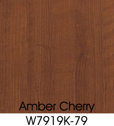 Amber Cherry Plastic Laminate Selection