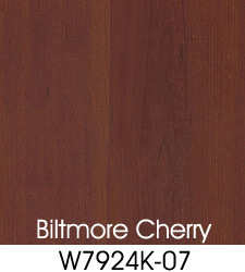 Biltmore Cherry Plastic Laminate Selection