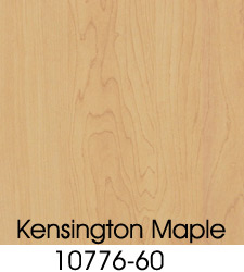 Kensington Maple Plastic Laminate Selection