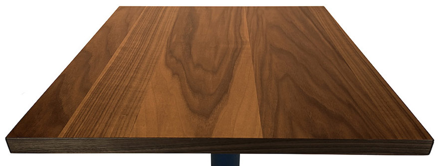 Walnut Veneer Restaurant Table