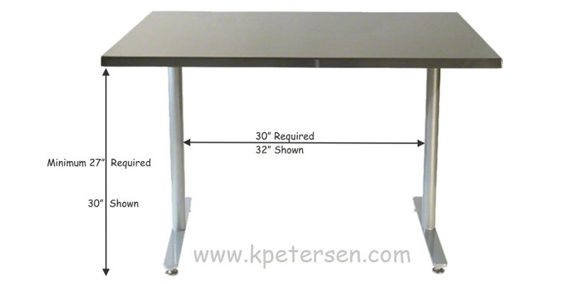 ADA Restaurant Table Clearances - Restaurant table bases for sale