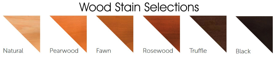 Standard Wood Stain Selections