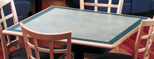 Wood Edge Restaurant Table