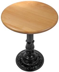 Wood Restaurant Table Round ...
